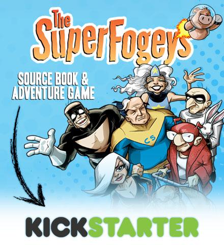 Superfogeys Kickstarter Campaign