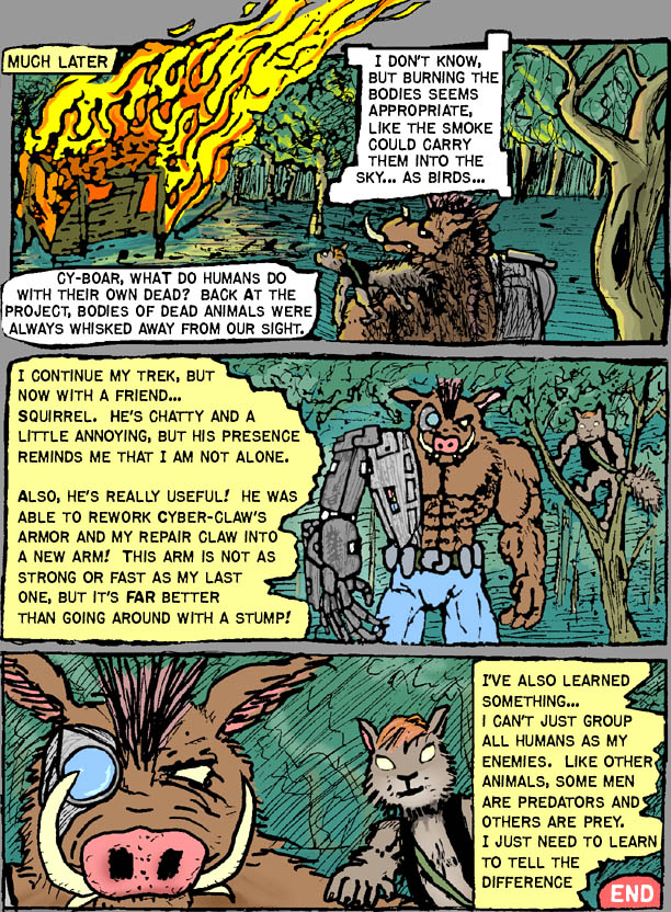 Cy-BOar's second adventure