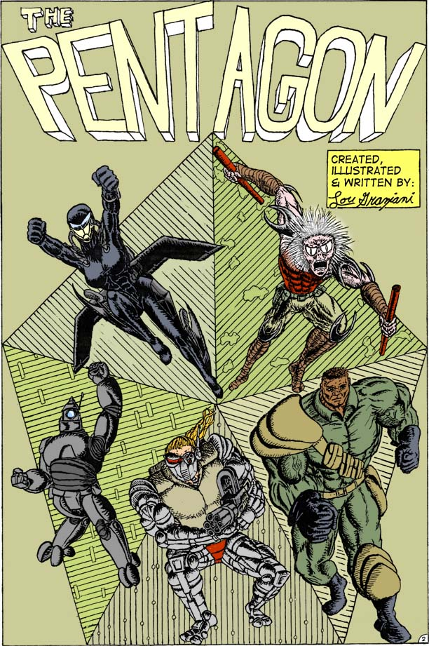 The Pentagon #1