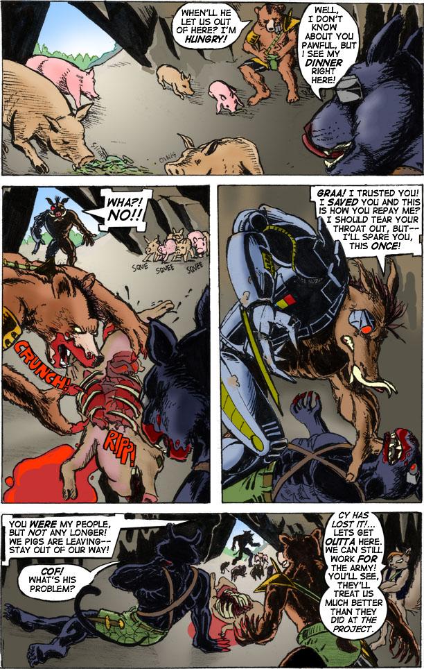 Cy-Boar #4 The Liberator