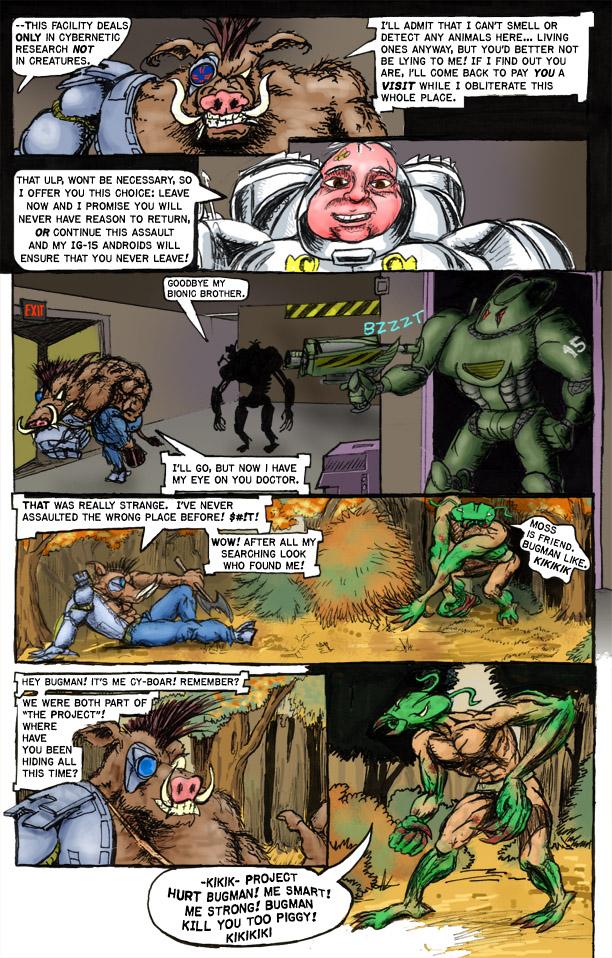 Cy-Boar #5 The Intruder