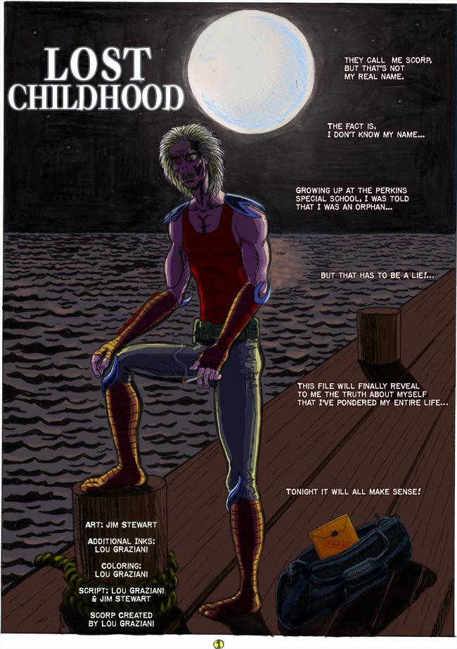 Scorp #2 Childhood Lost