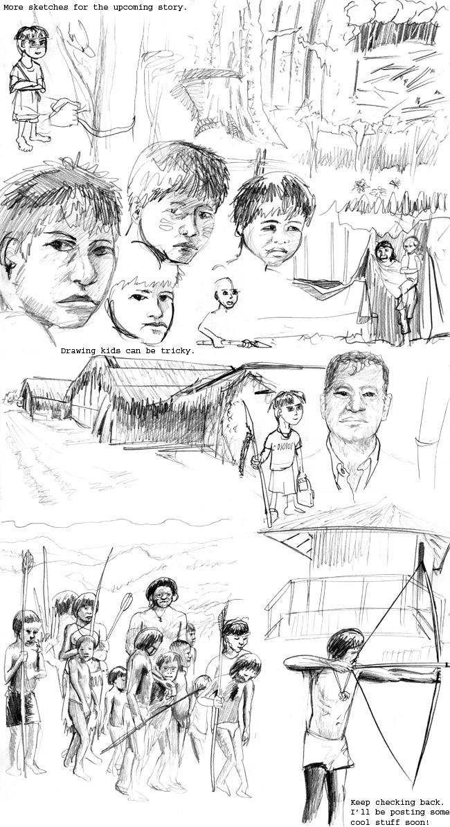 CyBoar's Characters