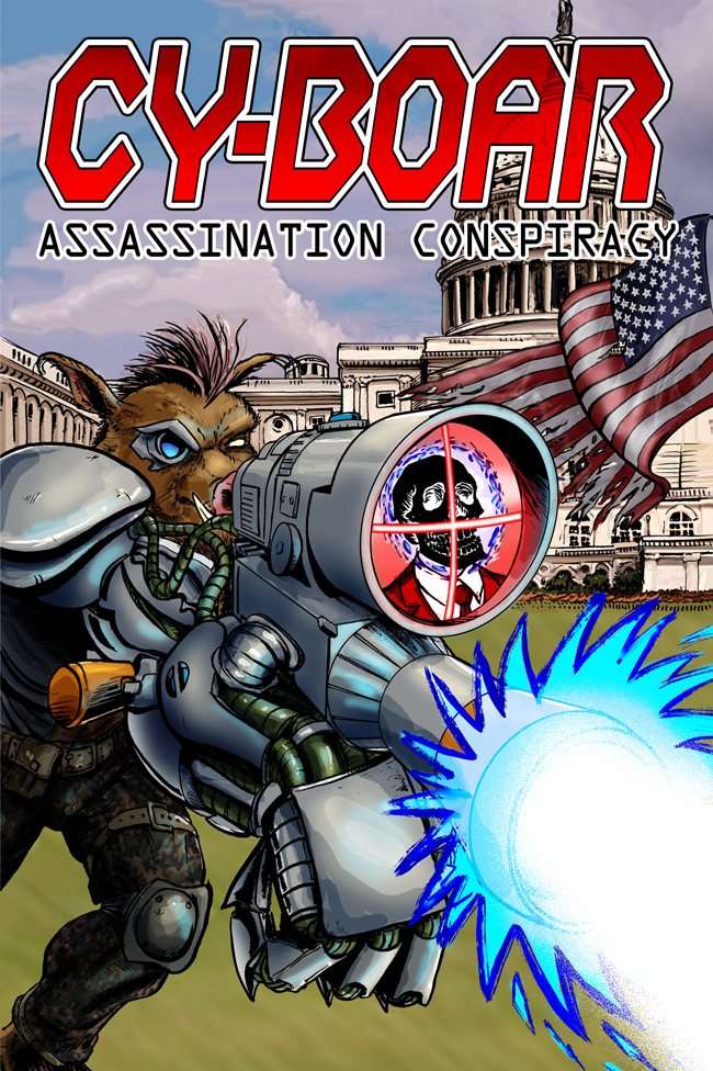 Cy-Boar #9 Assassination Conspiracy