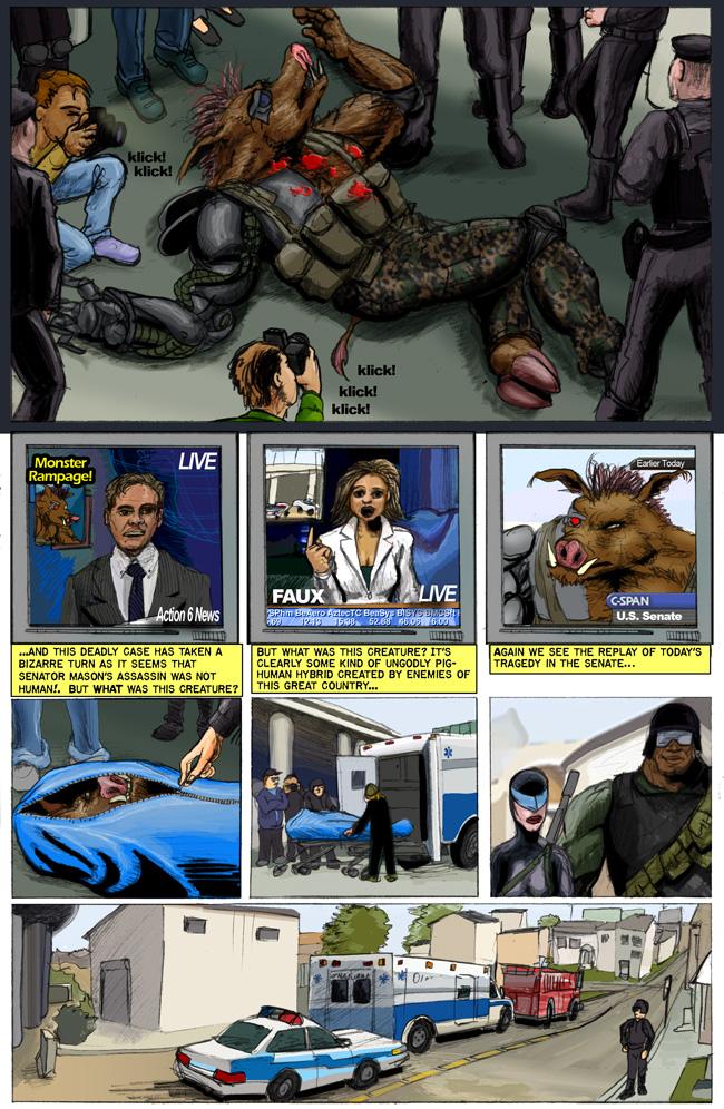 Cy-Boar #9 Assassination Conspiracy