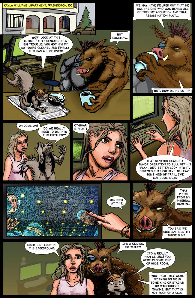 Cy-Boar #10 Underground Operation