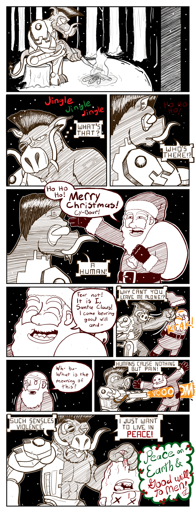 This was my gift in the Web Comic Secret Santa Exchange 2011