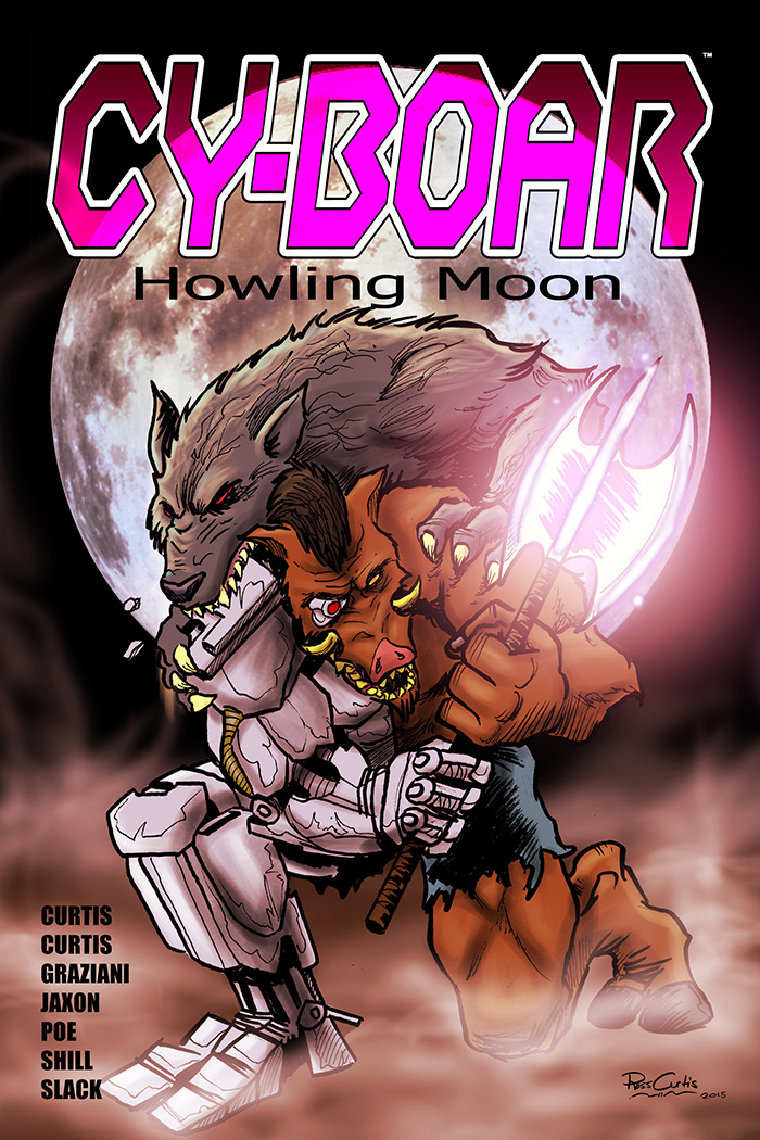 If that werewolf wanted to bite Cy-Boar, wouldn't it make sense to try biting him somewhere WITHOUT armor?!
