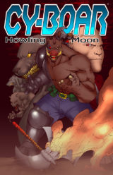 This could be a retailer exclusive if Cy-Boar comics were actually sold at any retailers...