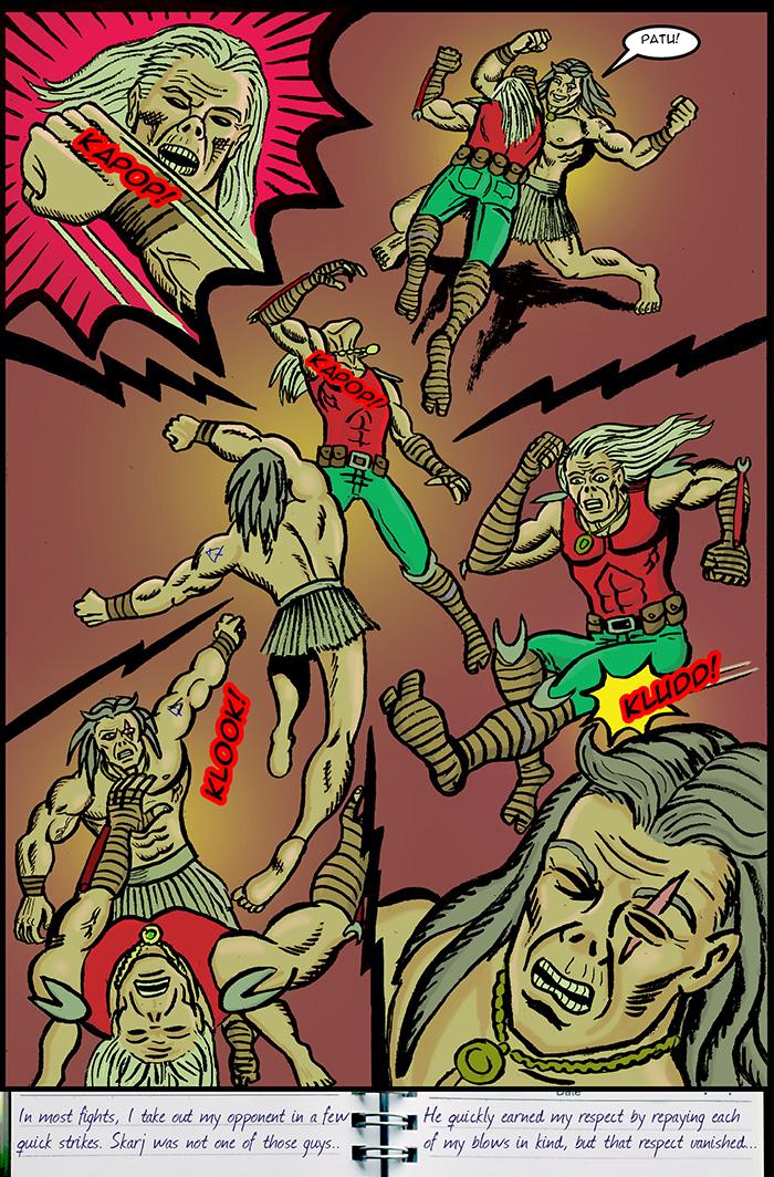 Kick! Sock! Punch! Stab! Eye gouge!